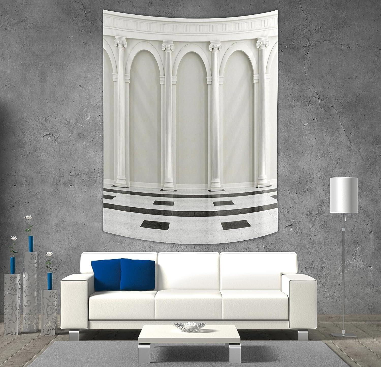 Iprint polyester tapestry wall hangingpillar decorantique