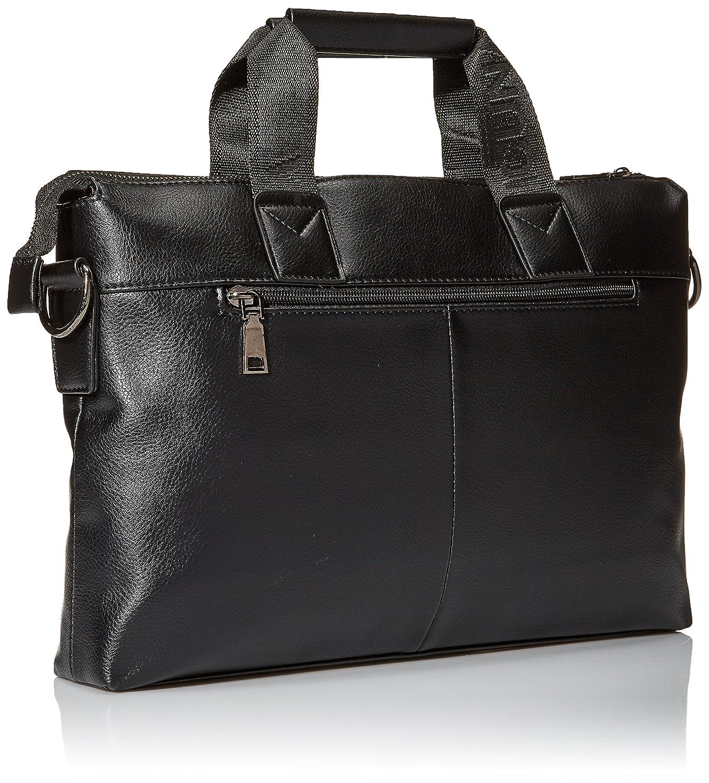 af12f2e4a VICUNA POLO Business Man Briefcase Dot Design Mens Handbags Shoulder Bags(black):  Amazon.ca: Luggage & Bags