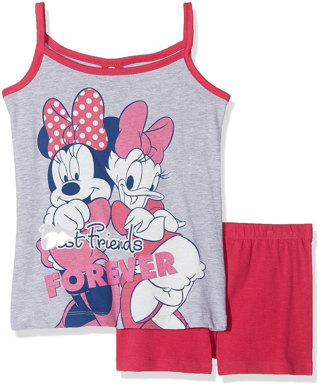 Disney Girl's Clothing Set Grey (Grigio Mel. 931) 122 cm 45271/AZ