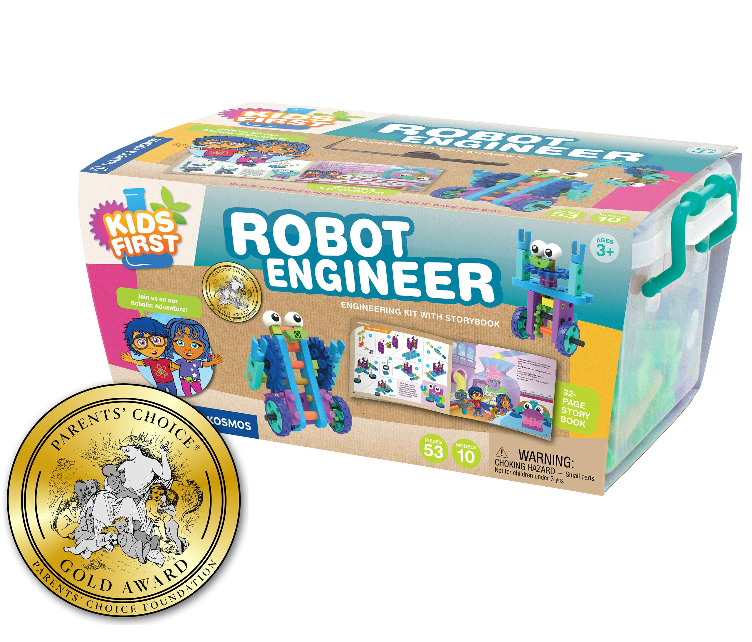 Kids First Robot Engineer Kit and Storybook by Thames & Kosmos