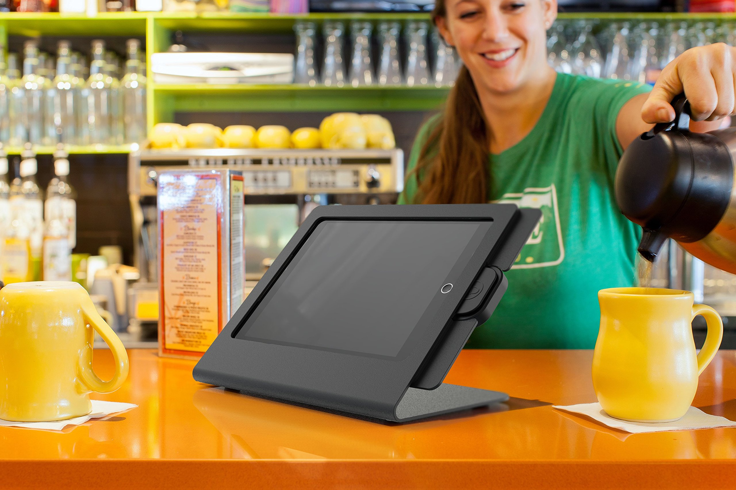 Heckler Design mPOS Checkout Stand for iPad Air with Optional iDynamo 5 Support (Black/Grey) by Heckler Design (Image #2)