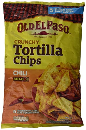 Nachos Old el Paso Chili Tortillas Chips - 185 gr