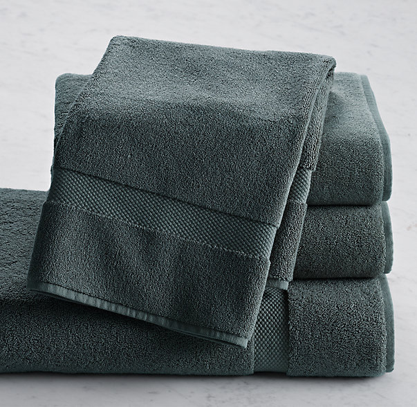 802-Gram Turkish Hand Towel | Color: Slate