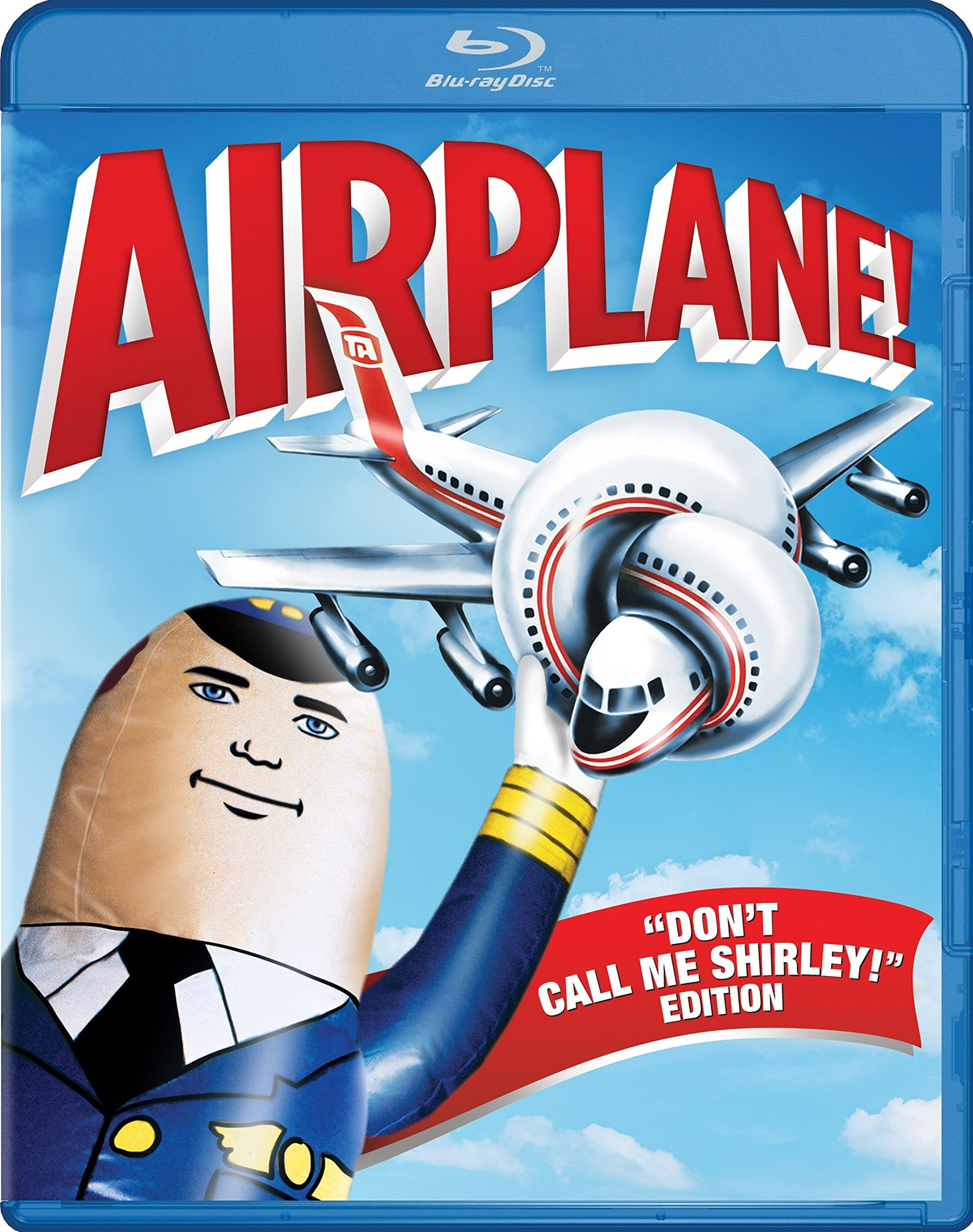 "Blu-ray : Airplane! (""Don't Call Me Shirley!"" Edition) (Widescreen, Dolby, AC-3, Digital Theater System, )"