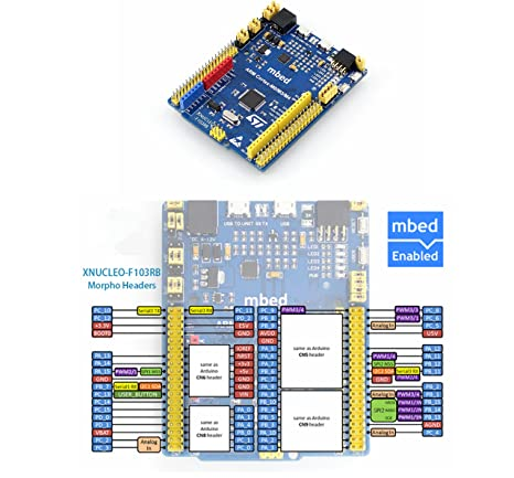 Amazon com: CQRobot Improved STM32 NUCLEO Board XNUCLEO