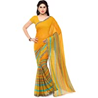 Anand Sarees Georgette Saree with Blouse Piece (1164_2_Multicoloured_Free size)