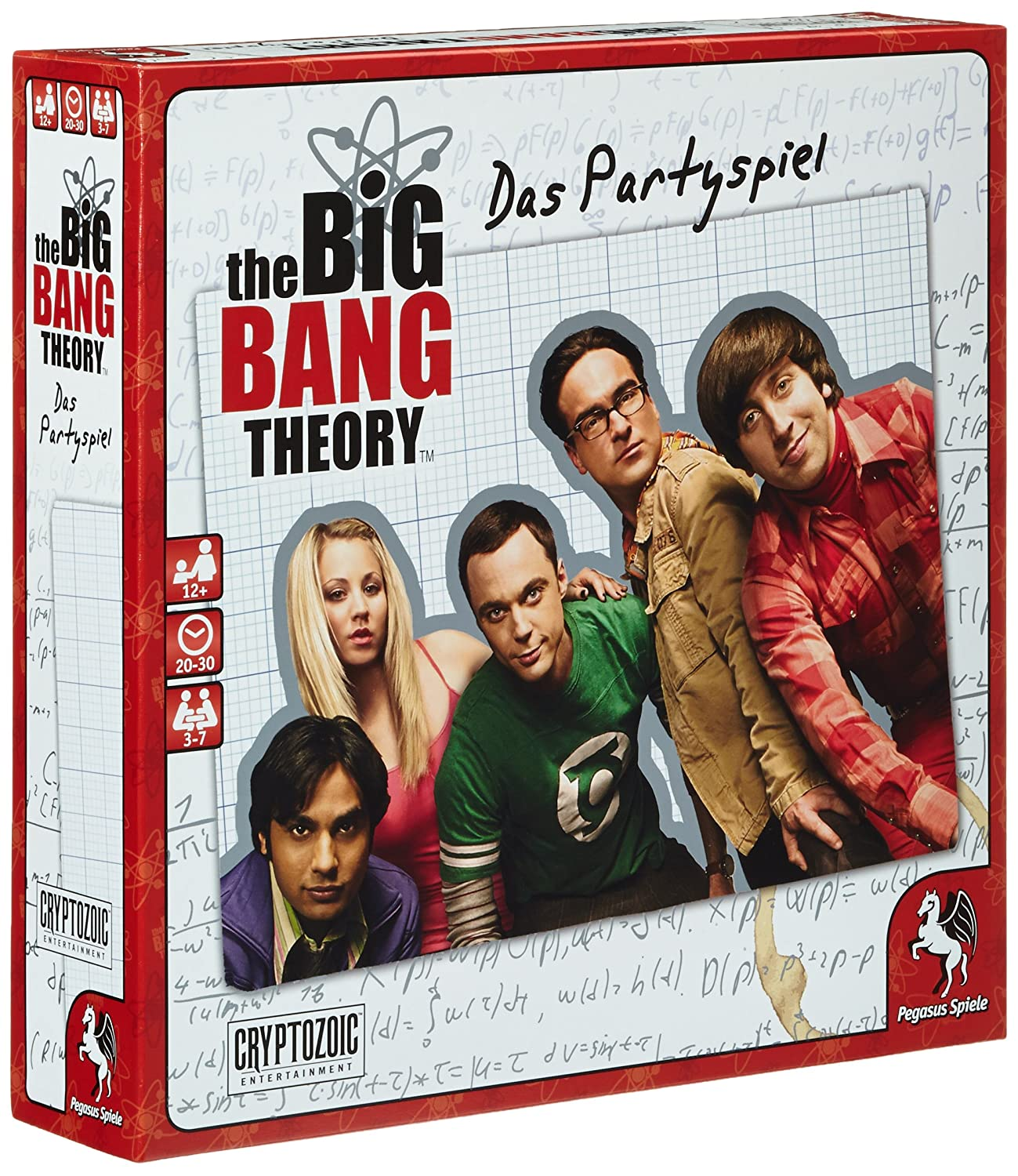 Pegasus 52210G - The Big Bang Theory, gioco da party