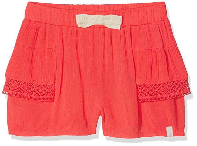 134345142f IKKS JUNIOR Short Fluide Rouge Clair, Fille, Rouge (Rouge Clair 35 ...