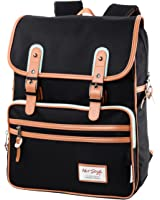 [HotStyle Basic Classic] SmileDay Vintage Laptop Backpack for College School
