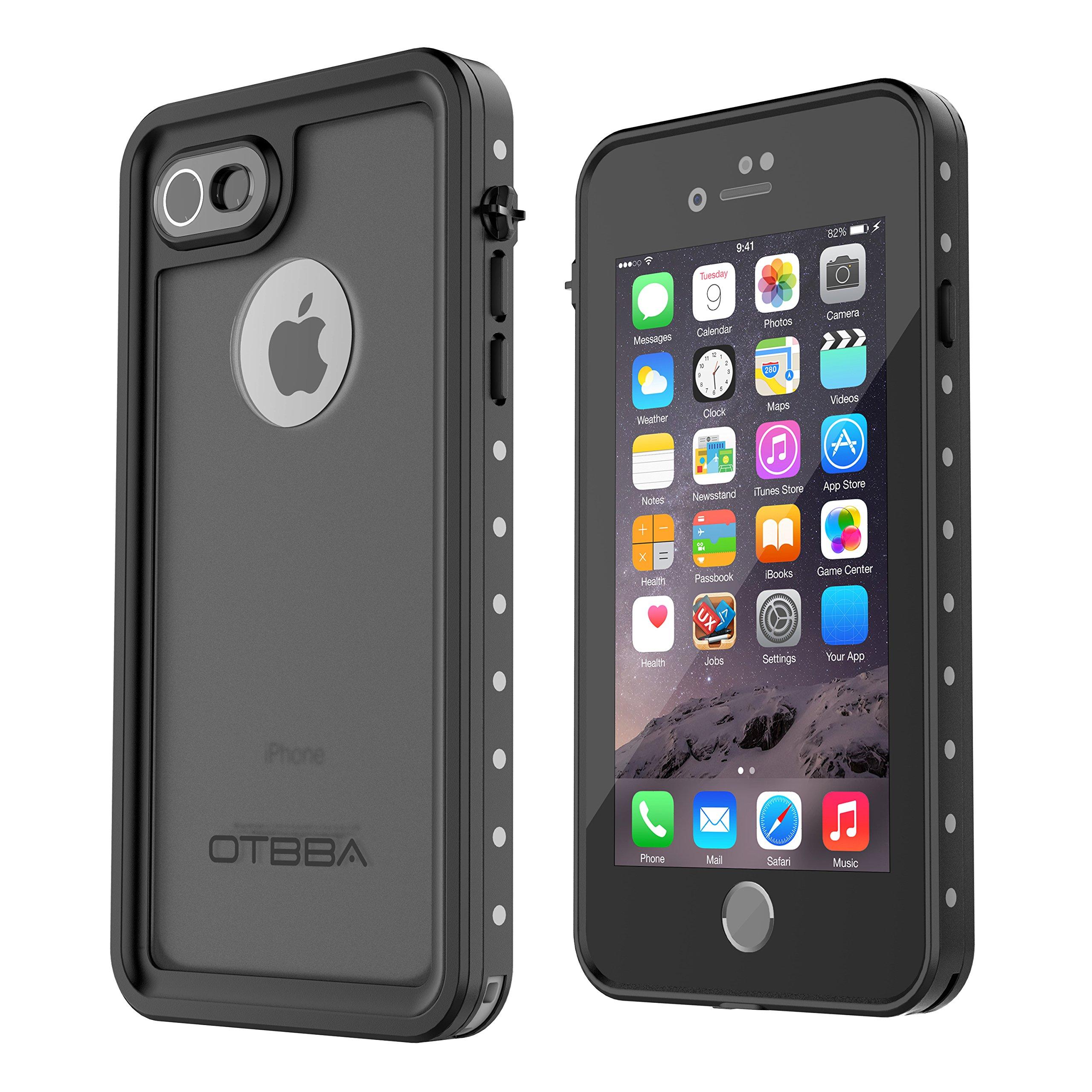 iPhone 7 Waterproof Case, OTBBA Underwater Cover Full Body Protective Shockproof Snowproof Dirtproof IP68 Certified Waterproof Case for iPhone 7 (4.7inch)