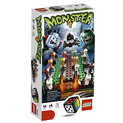 LEGO Monster 4 Game (3837): Toys & Games