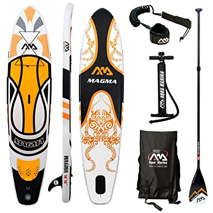 Amazon.com: Aqua marina stand Up paddle board (6 inches de ...