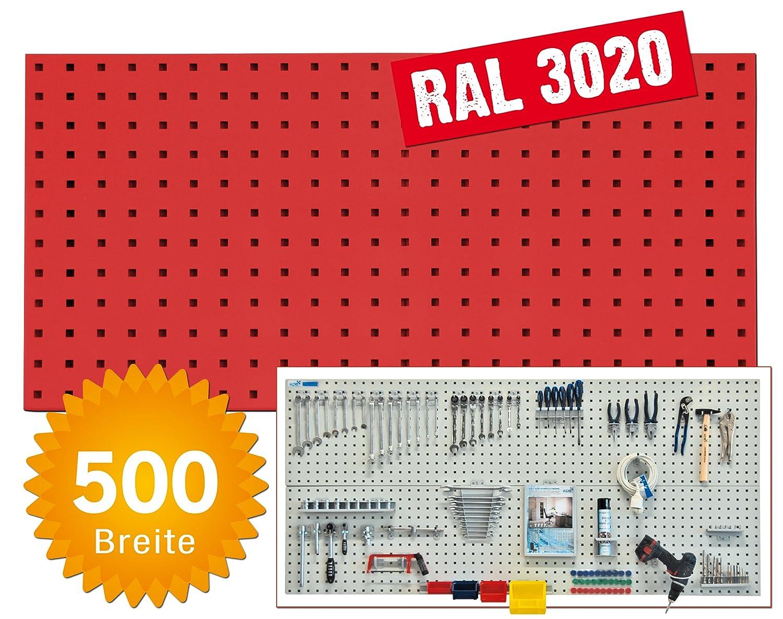 System-Lochplatte BxH 1200x450 mm anthrazitgrau RAL 7016