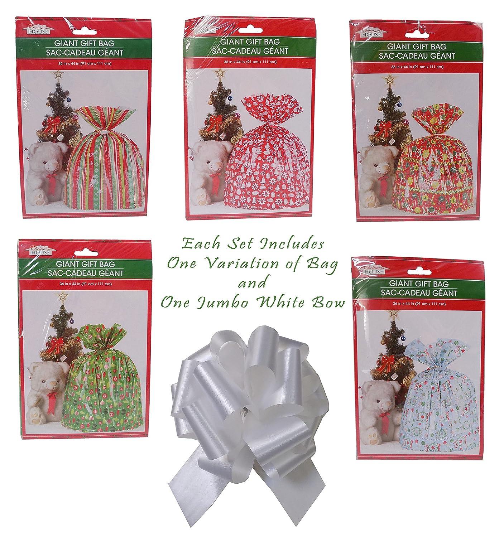 Amazon.com: Giant Festive Christmas Gift Bag 36\