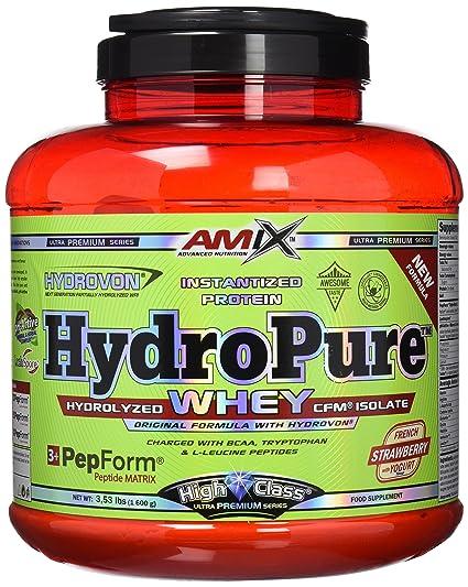 Amix Hydropure Whey CFM 1,6 kg Fresa-yogurt