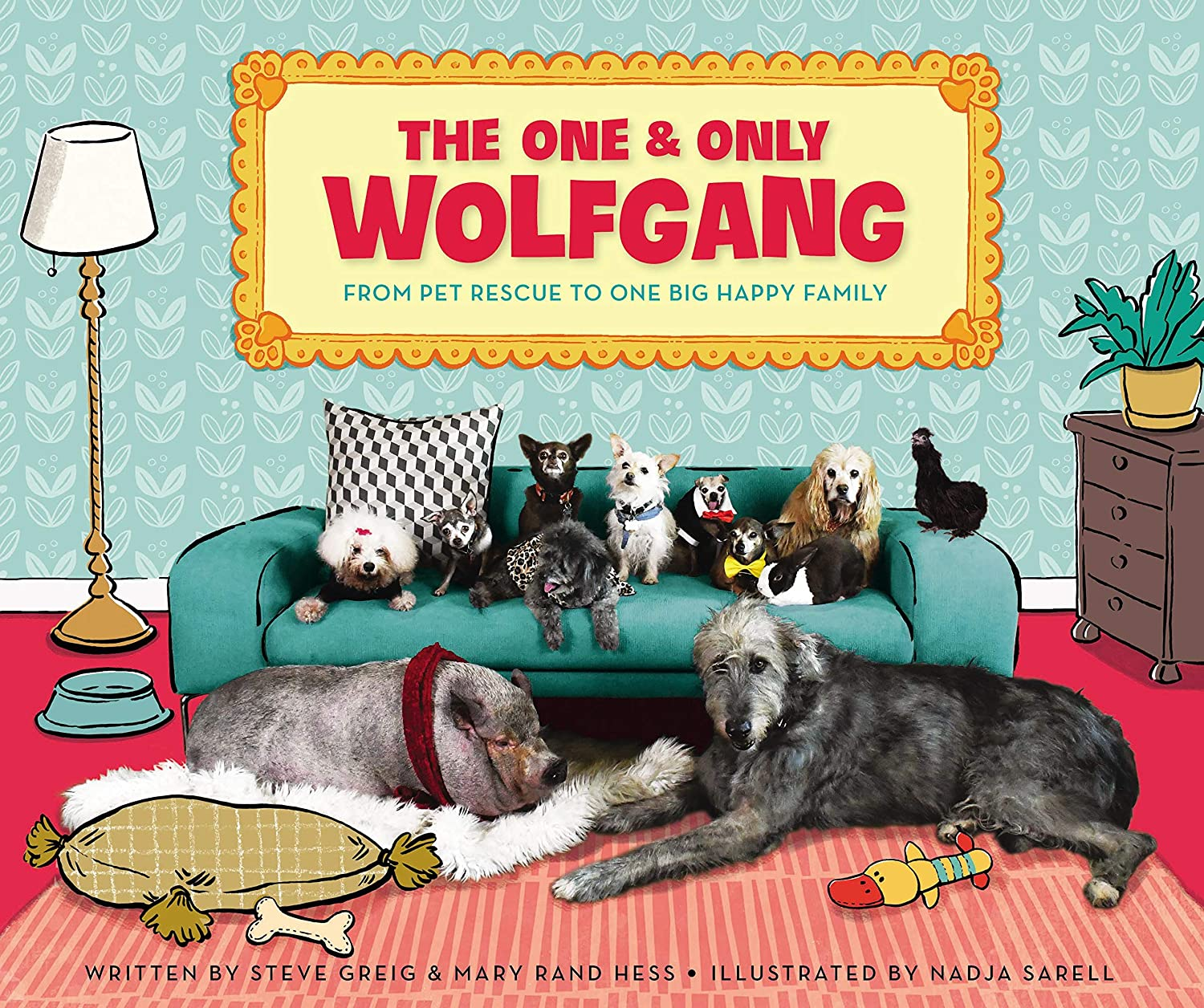 The One and Only Wolfgang: From pet rescue to one big happy ...