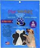 XLarge Paw Savers, Disposable Dog Paw Pads, (59-80 lbs) 24 Pieces