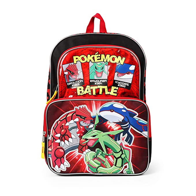Amazon.com: Pokemon Mochila de 16.0 in: RALME