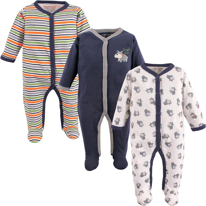 B002U827TW Luvable Friends Unisex Baby Cotton Sleep and Play 91dU5g%2BignL