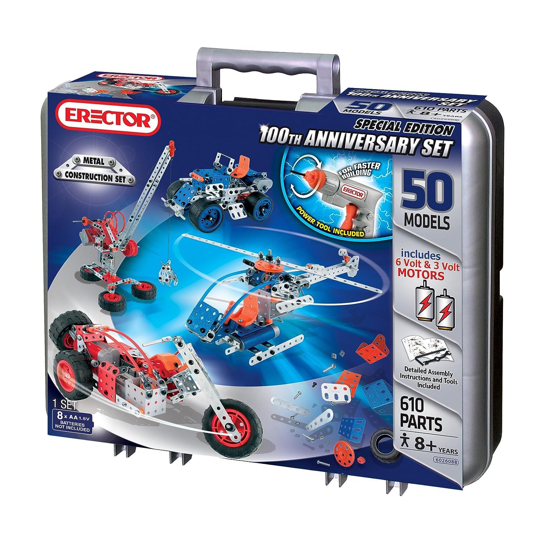 Meccano-Erector – Multimodel – 50 Models Motorized Set