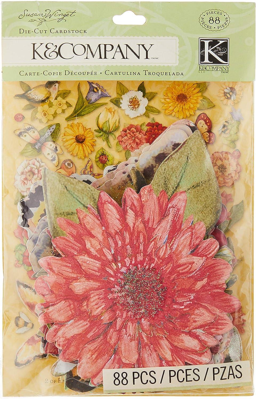 K&Company Susan Winget Meadow Die-Cut Cardstock