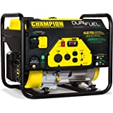 Champion Power Equipment 100307 4375/3500-Watt Dual Fuel RV Ready Portable Generator