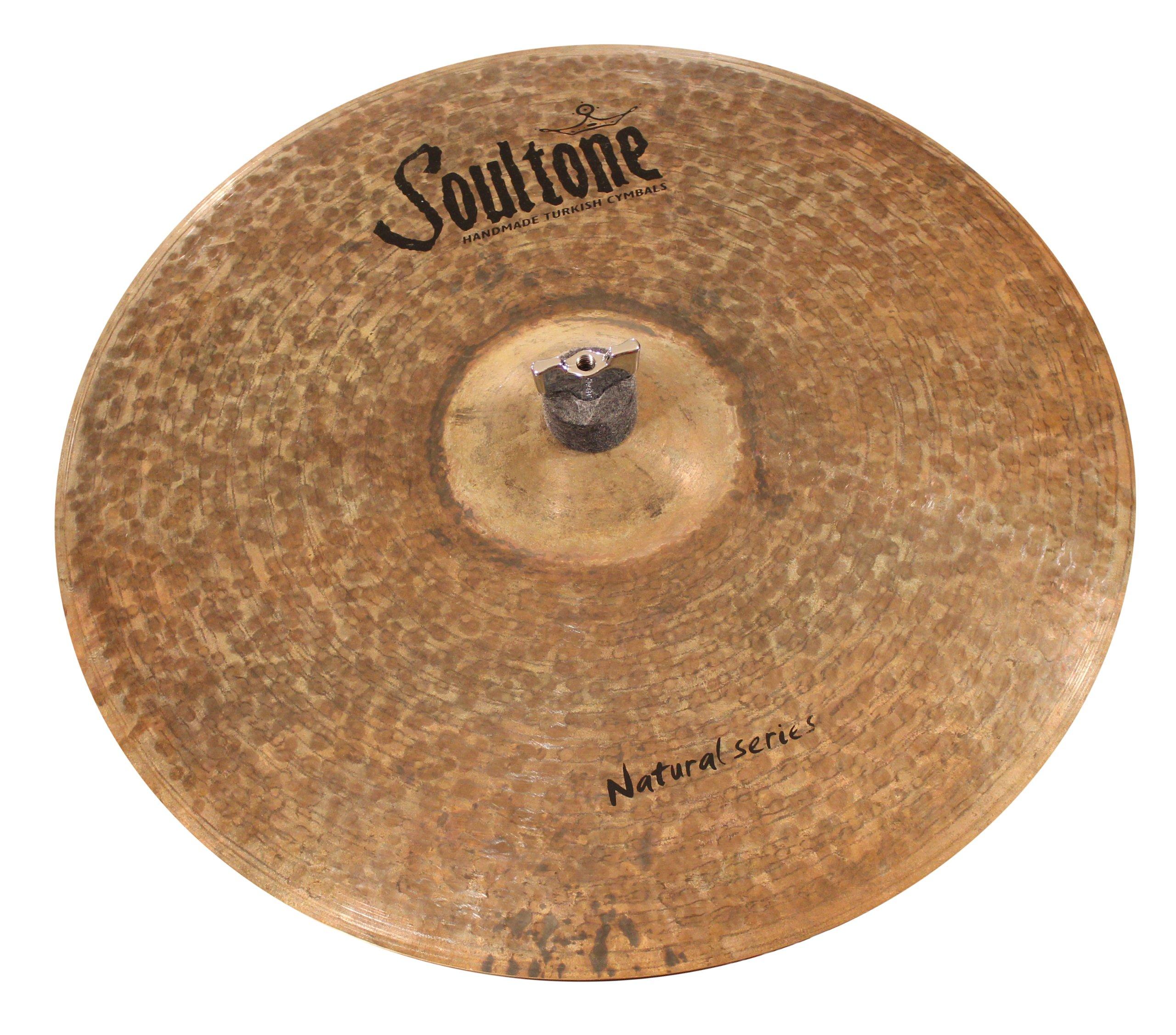 Soultone Cymbals NTR-CRS20-20'' Natural Crash by Soultone Cymbals