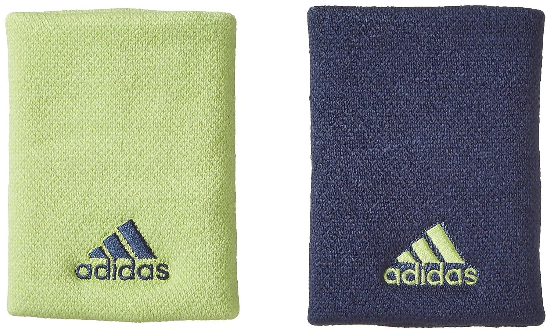 adidas Men's L Tennis Wristband Black/White One Size CF6278