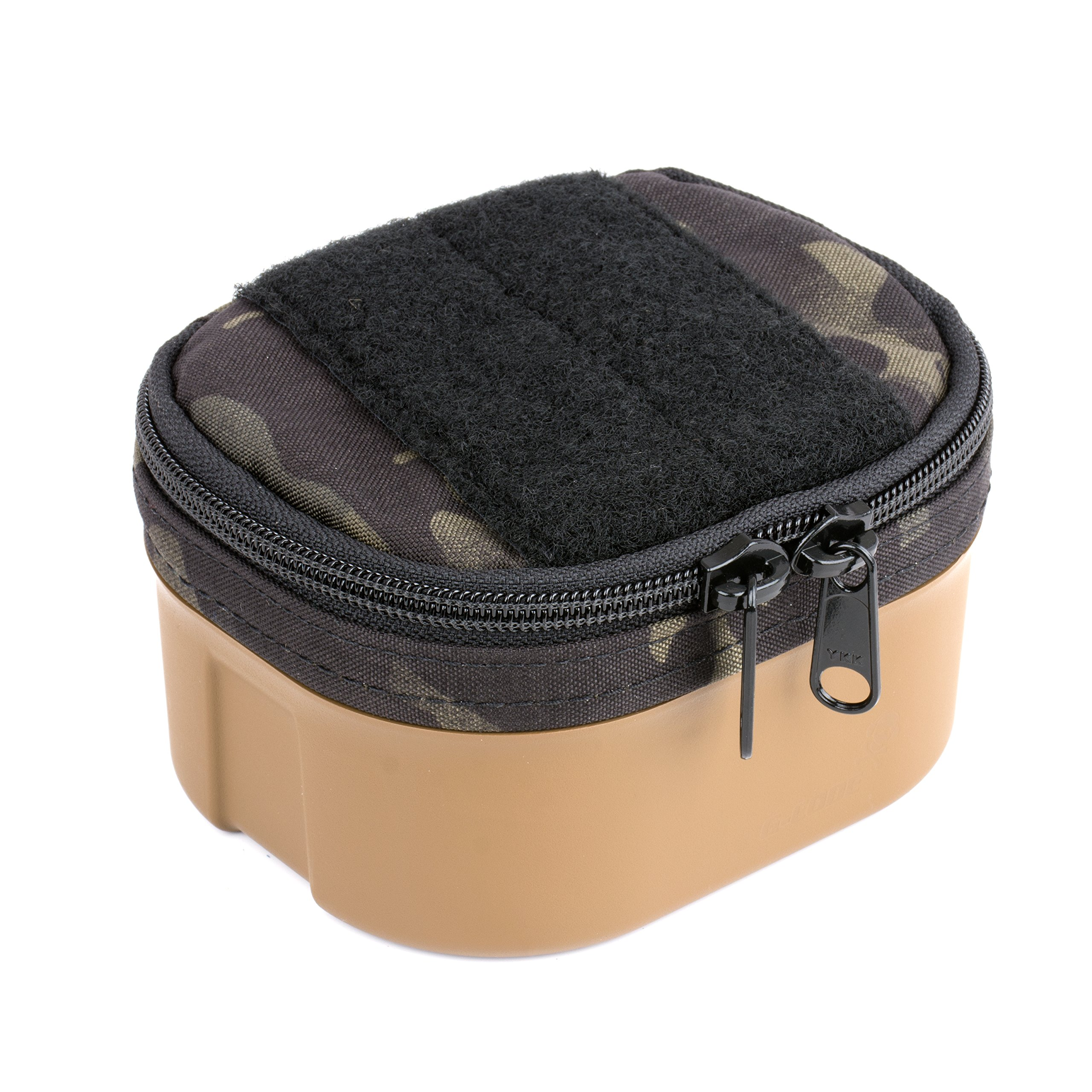 G-CODE Bang Box -Ammunition transport made simple! 100% Made in USA (black multicam on tan)