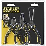 Stanley FMHT0-80524 Fatmax Mini pinces, Jaune/noir, Set de 3 Pièces