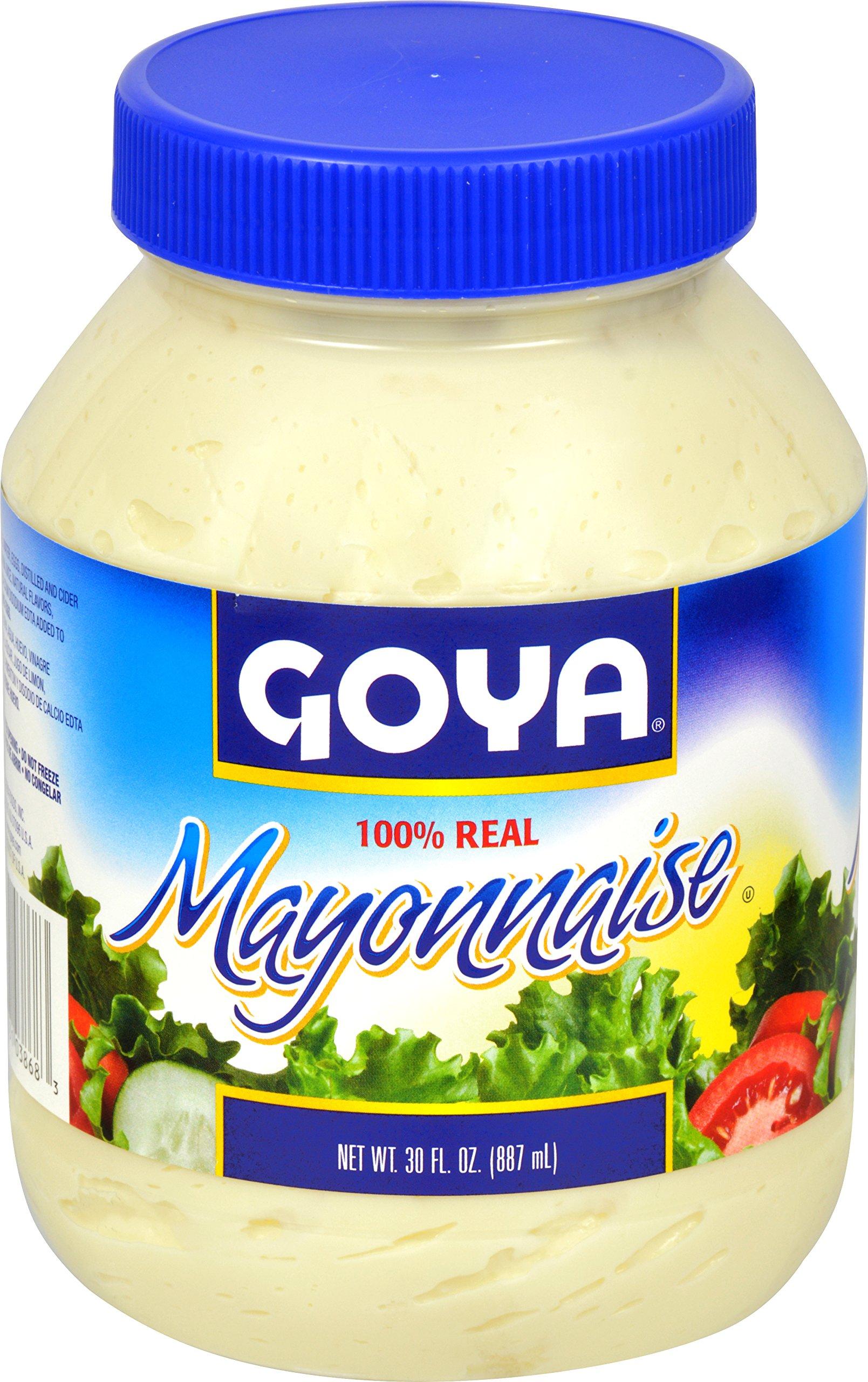 Goya Foods Mayonnaise, 30 Ounce (Pack of 12)