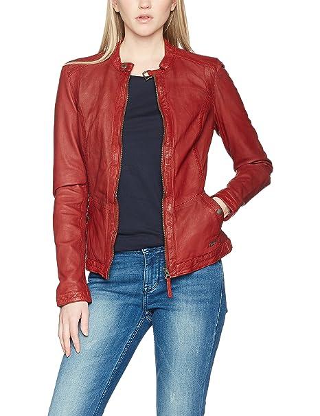Mustang Giacca Leather it Abbigliamento Donna Amazon Joana qBz1qw0
