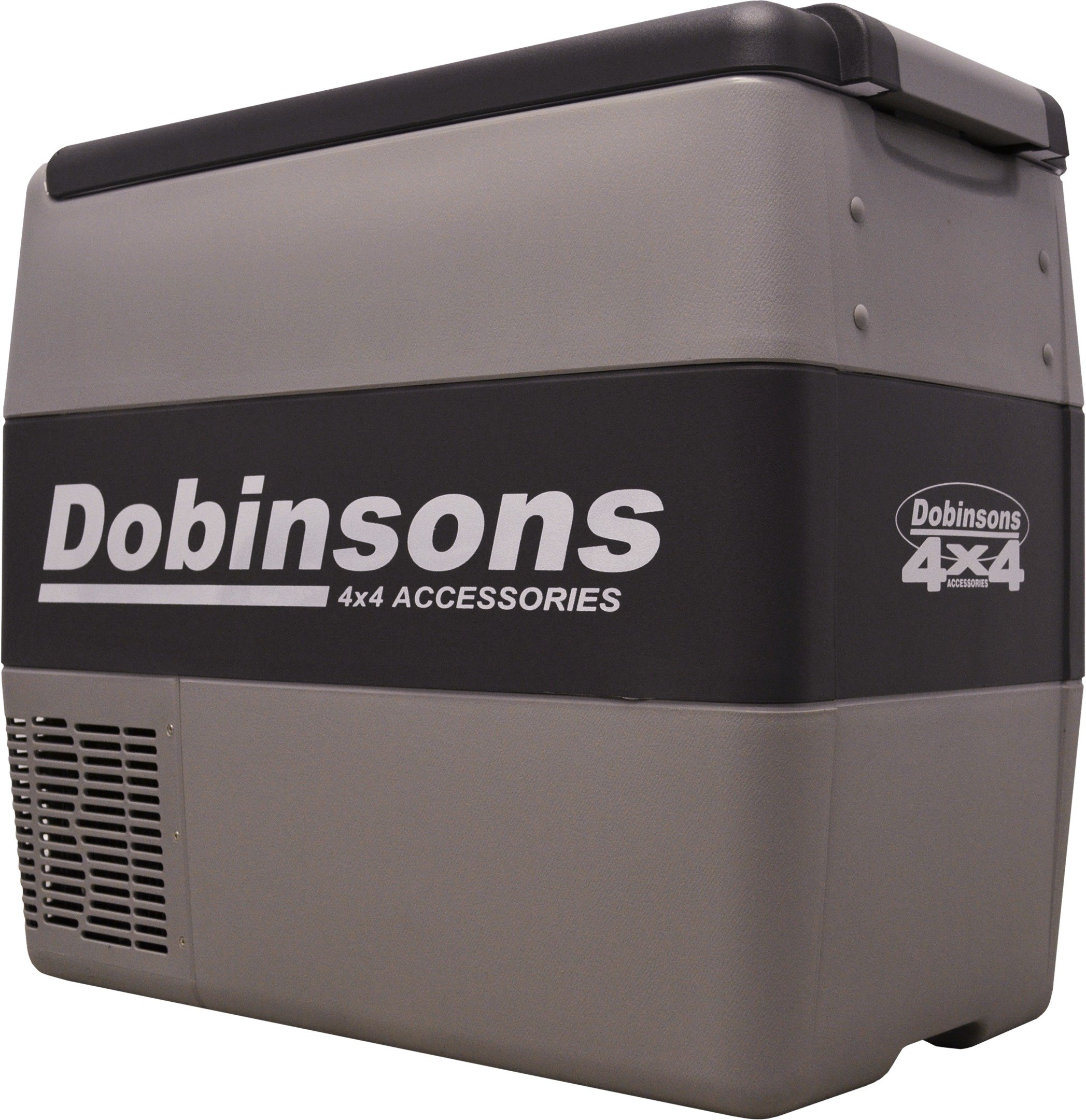 Dobinsons 4x4 50 Liter 12V Portable Fridge Freezer, Includes Free Insulating Cover Bag