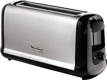 Moulinex Subito LS2608 - Tostadora 2 ranuras, potencia 1000 W y 7 ...