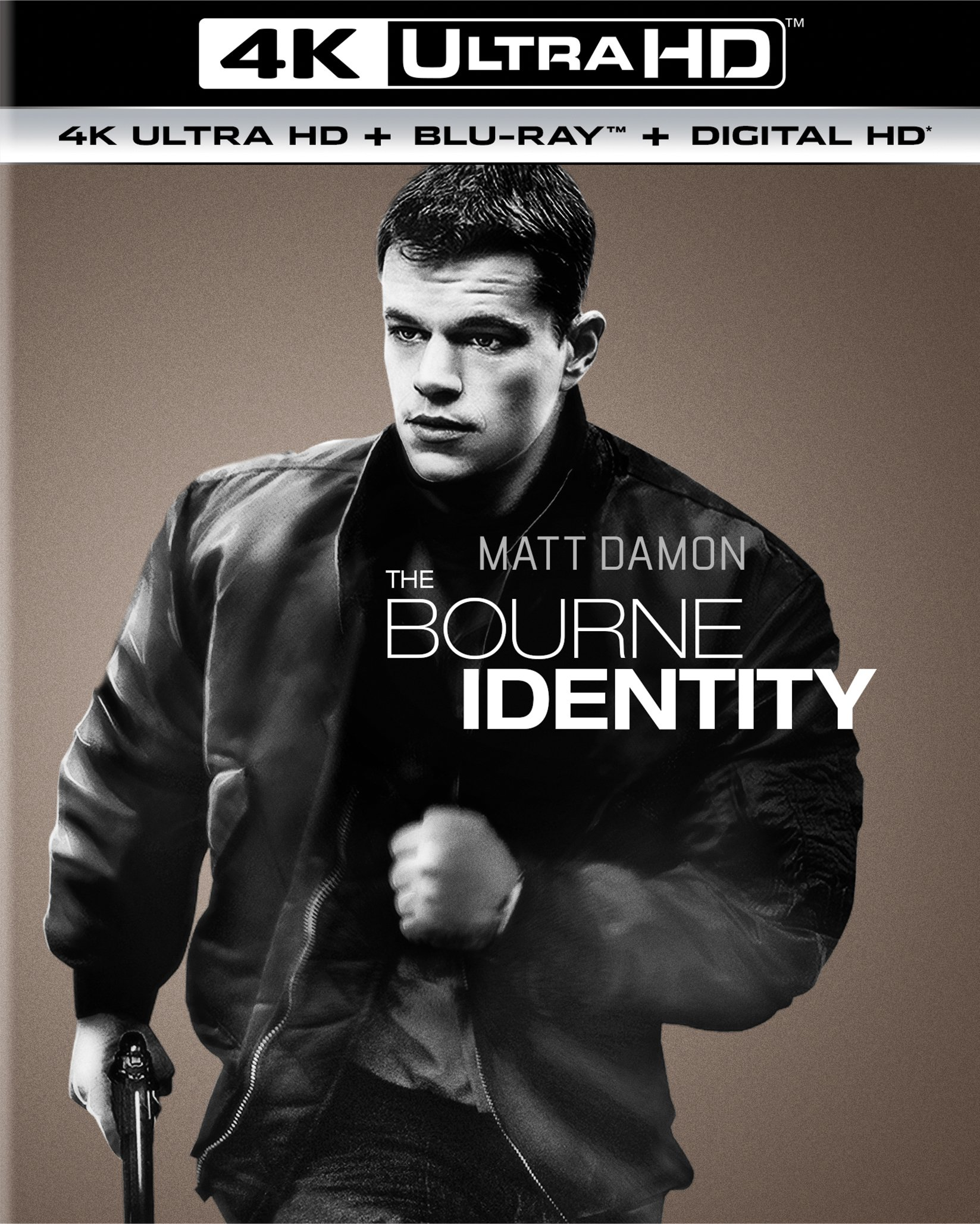 4K Blu-ray : The Bourne Identity (With Blu-Ray, 4K Mastering, Ultraviolet Digital Copy, Digitally Mastered in HD, Digital Copy)