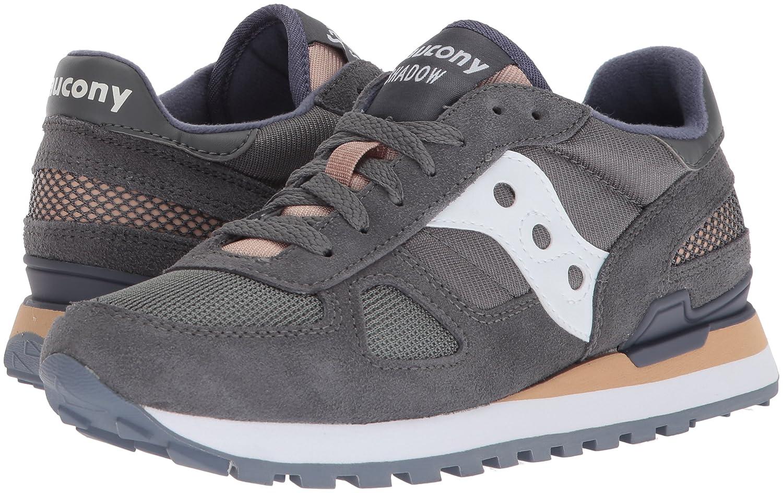 Saucony Originals Women's Shadow Original Running Shoe B072MFS3N1 6 B(M) US|Grey/White