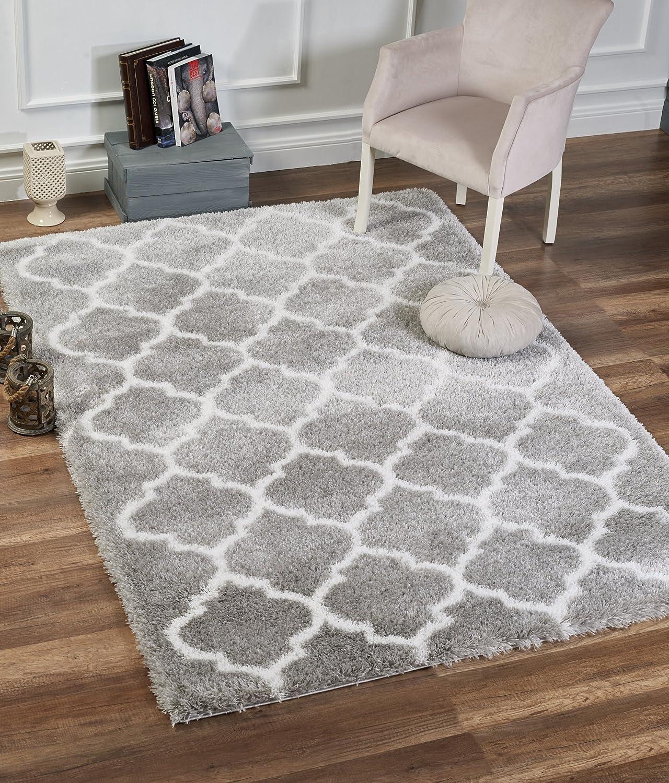 Amazon Com Delphia Rugs Modern Moroccan Trellis Design Thick