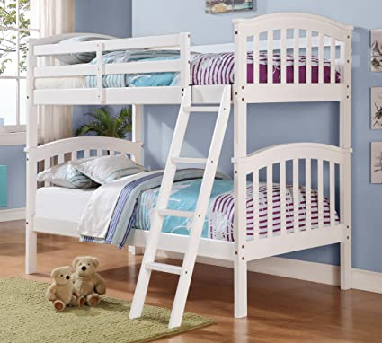 Amazon Com Donco Kids 311 Ttw Columbia Mission Style Twin Bunk Bed