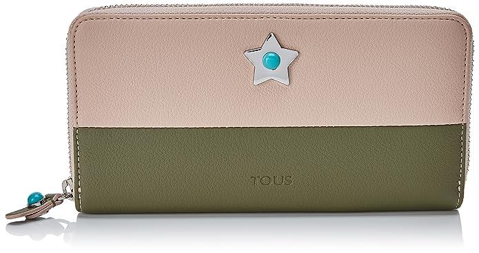 Tous Super Power Mediana, Cartera para Mujer, Varios Colores (Rosa-Verde), 2x11x19.5 cm (W x H x L): Amazon.es: Zapatos y complementos
