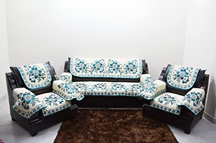 A.P Handloom Reble Sible Sofa And Chair Cover Set  12 Piece/sofa Cover With