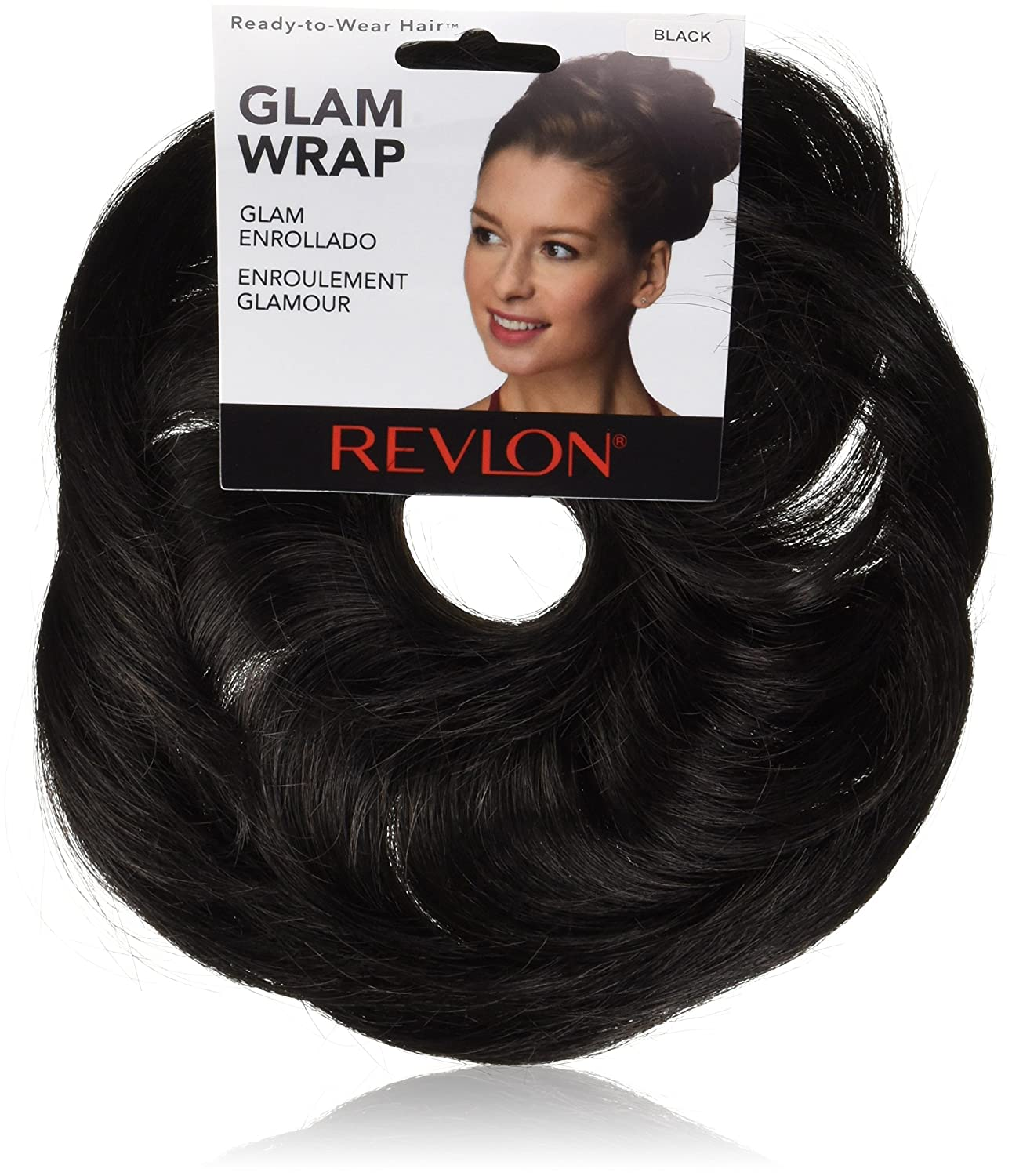 Revlon Ready-To-Wear Hair GLAM WRAP (Black)