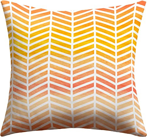 Deny Designs Rebecca Allen Sunset Bliss Outdoor Throw Pillow, 18 x 18
