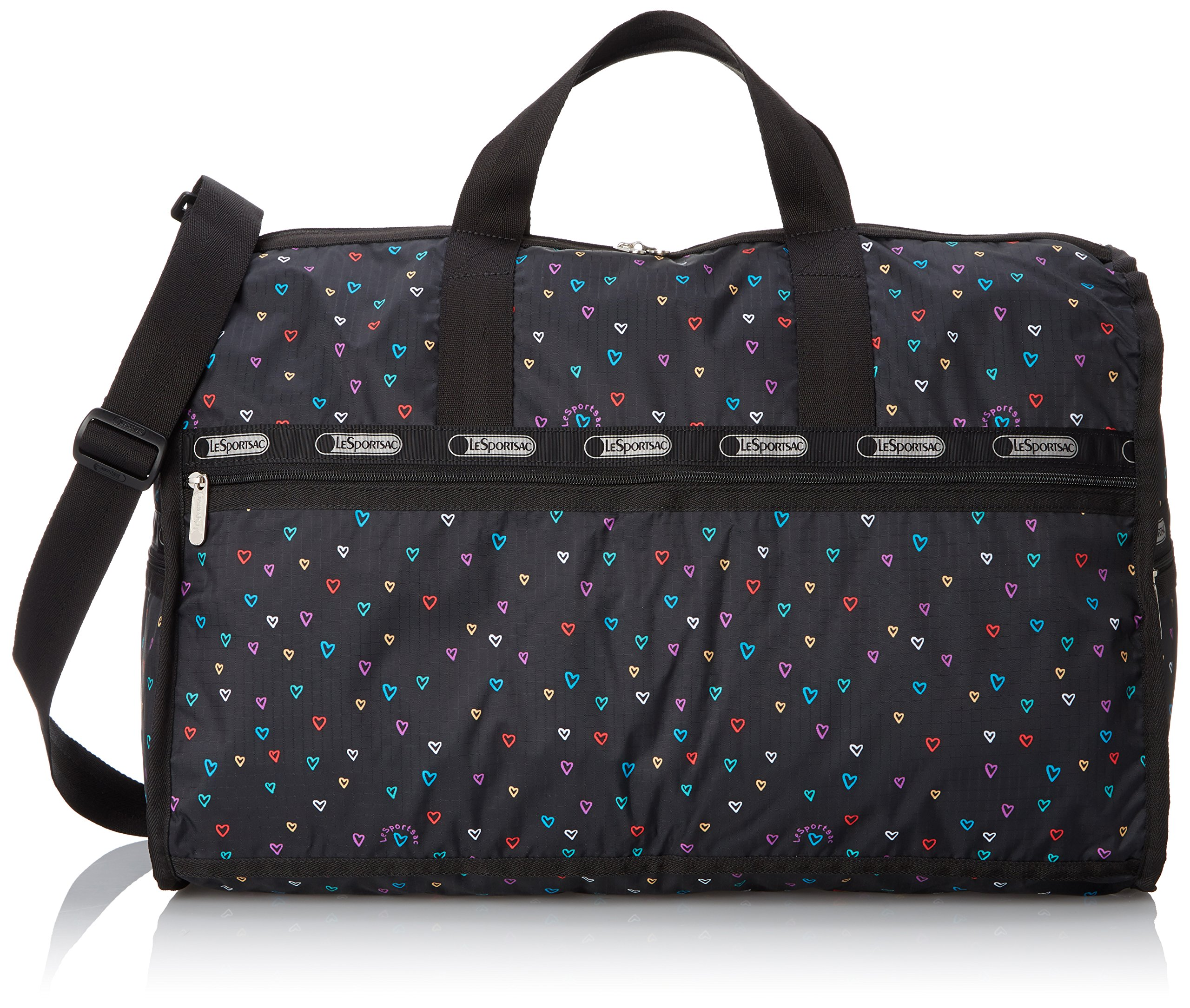 LeSportsac Large Weekender Bag, Love Drops, One Size