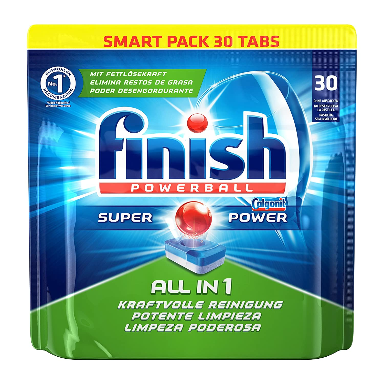 Bevorzugt Finish All in 1, Spülmaschinentabs, Smartpack, 30 Tabs: Amazon.de JE14