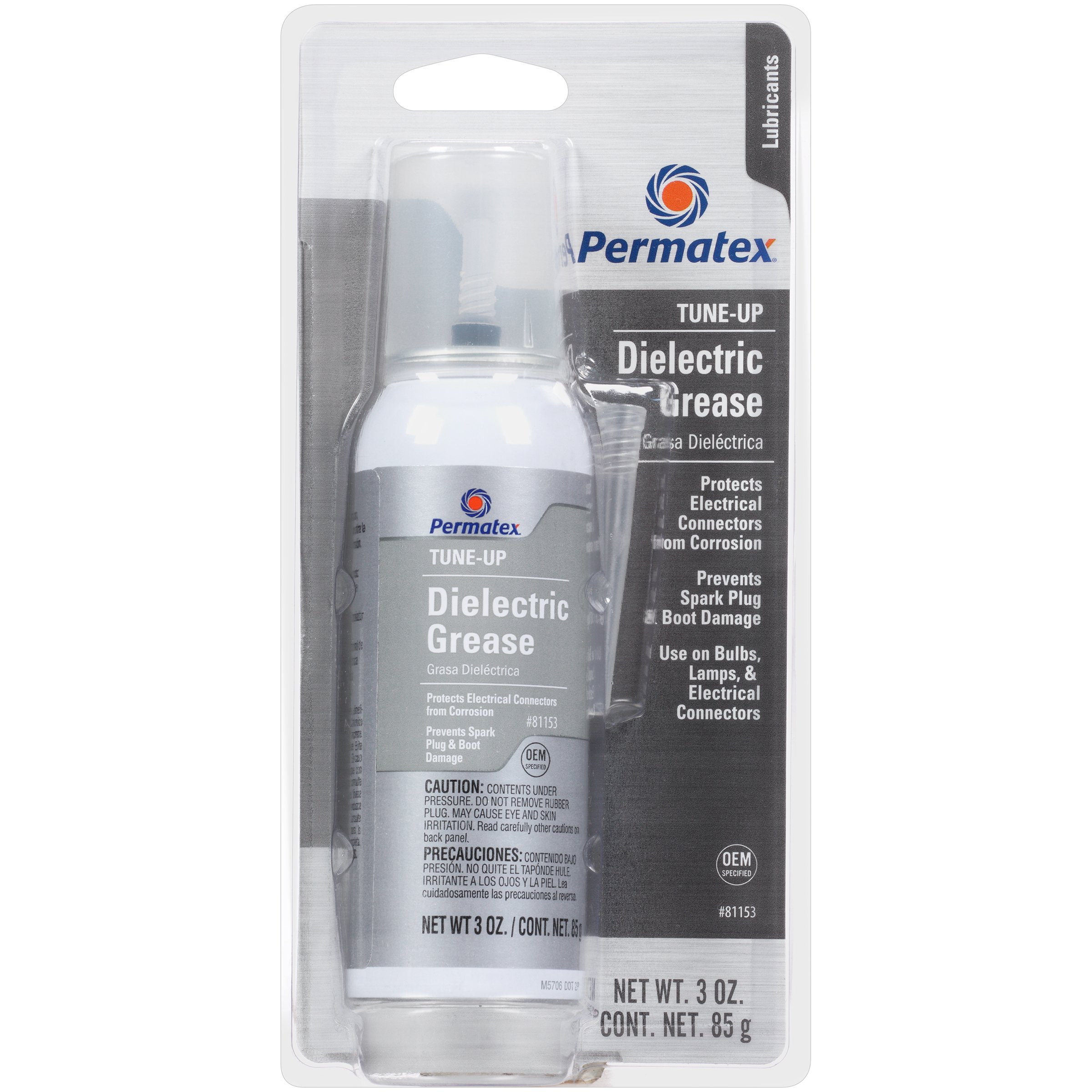 Permatex 81153-6PK Dielectric Tune-Up Grease, 3 oz. PowerCan (Pack of 6) by Permatex (Image #1)