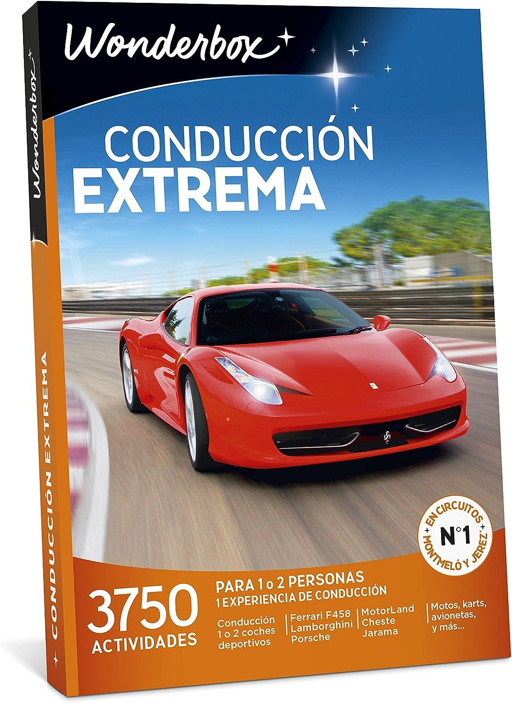 WONDERBOX Regalo Hombre -CONDUCCIÓN Extrema- 3.750 experiencias de ...