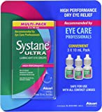 Systane Ultra Lubricant Eye Drops 0.3 oz (Pack of 3)