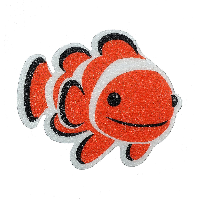 SlipX Solutions Clownfish Tub Tattoos (Kid Friendly, 5 Count, Reliable Grip) Venturi 04140-1