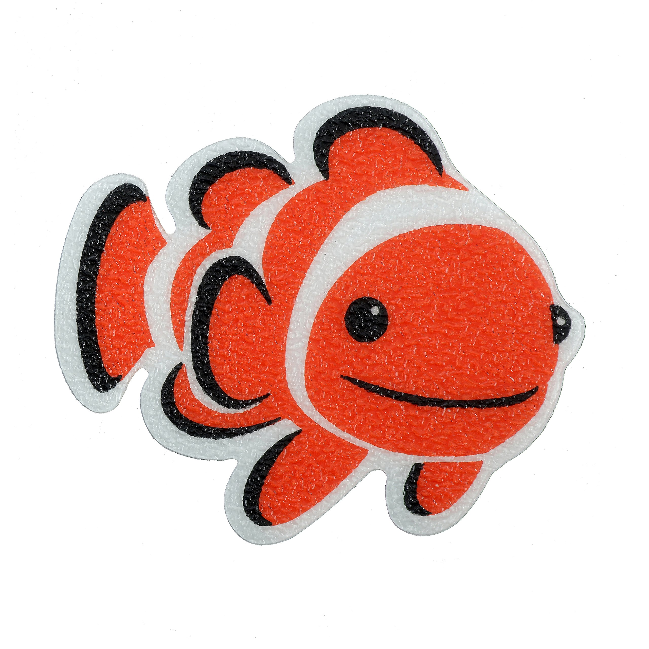 SlipX Solutions Adhesive Bath Treads: Clownfish Tub Tattoos Add Non Slip  Traction To Tubs