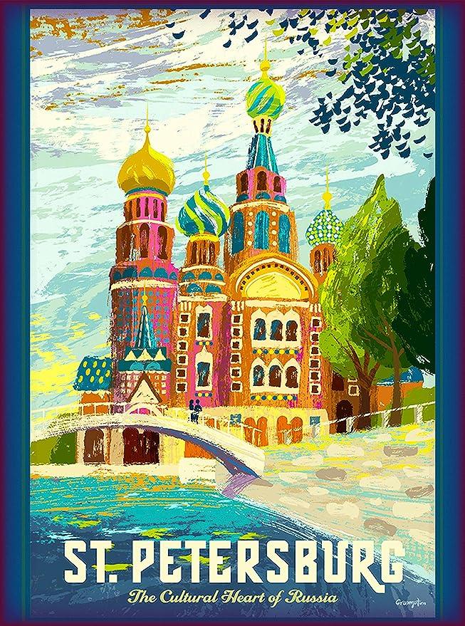 Amazon.com: San Petersburgo – Viajes de Moscú Rusia St ...